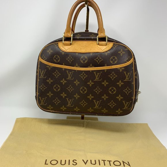 Louis Vuitton Trouville Handbag Monogram C…